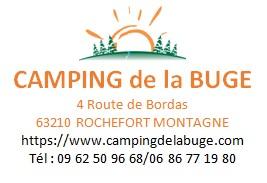 Camping de la Buge